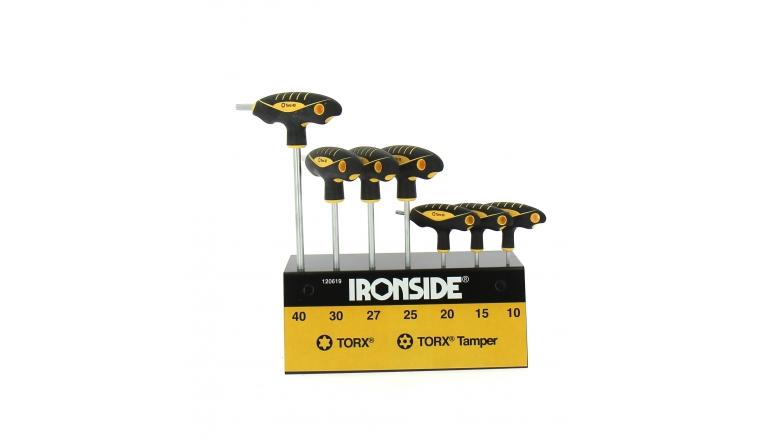 Coffret de 7 Tournevis en T - Torx - Ref 120619 - Ironside