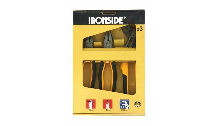 Coffret de 3 Pinces - Ref 121016 - Ironside