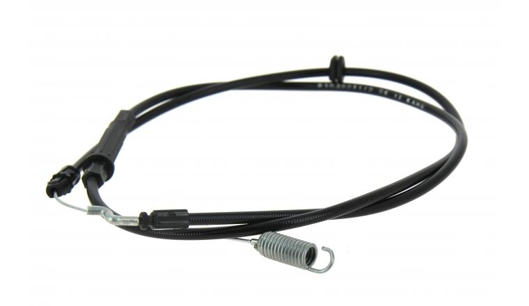 Câble d\'embrayage pour tondeuse Castelgarden - Ref 381030051/0