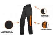 Pantalon de Bûcheron Function Universal 40 à 54 Anti-coupure Type A Classe 1 - Stihl