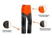 Pantalon de Bûcheron Classic 38 à 46 Anti-coupure Type A Classe 1 - Husqvarna