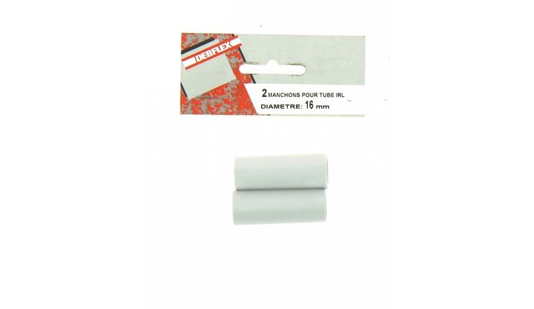 Lot de 2 Manchons pour Tubes IRL Ø 16 mm - Debflex 429344