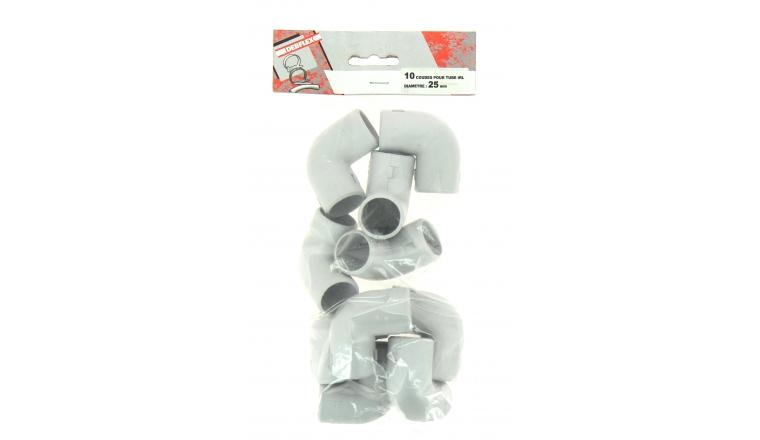 Lot de 10 Coudes 90 ° pour Tubes IRL Ø 25 mm - Debflex 429257