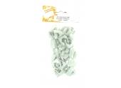 Lot de 20 Clips + Chevilles pour Tube IRL Ø 16 mm - Debflex 709073