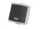 Bouton Poussoir à Voyant Etanche IP65 PERLE - Debflex 730170
