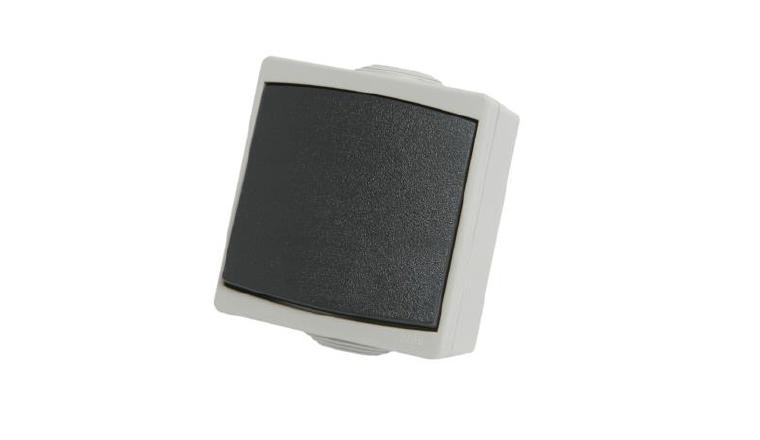 Interrupteur Va et Vient Etanche IP65 PERLE - Debflex 730110