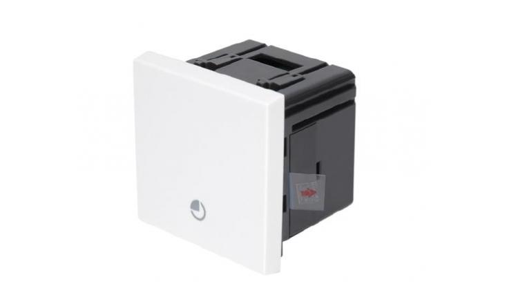Mécanisme Interrupteur Minuterie Blanc CASUAL - Debflex 742154