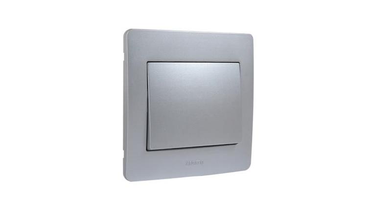 Interrupteur Va et Vient Alu Complet DIAMANT2 - Debflex 739112