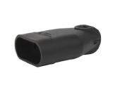 Fiche électrique Femelle 2P Noire 250V 6A - Debflex 713470
