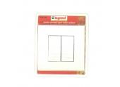 Interrupteur Double Commande de Volets Roulants Complet MOSAIC - Legrand 92330