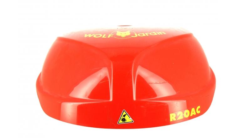 Capot de protection Rouge tondeuse Robot R20AC et ROW1 - Ref 33923 - Outils Wolf