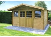 Abri de jardin en Bois DOLE Solid 10.00 m² S8384