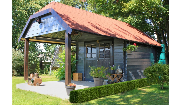 Abri de jardin en Bois CORK Solid 7.53 m² S8507
