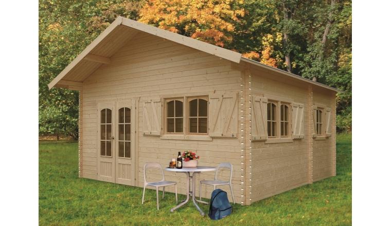 Abri de Jardin en bois WEEK END 23.30 m² S8971
