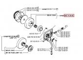 Cloche d\'Embrayage pour Tronçonneuse 246 et 42 - Ref 503 74 20-02 - Husqvarna
