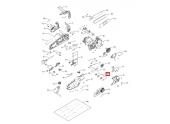 Ensemble pignon et ressort pour Tronçonneuse Power Plus 1840, INLINE 1800T ... - Ref 505 55 90-01 - Husqvarna