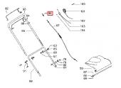 Ressort pour câble d'avancement Tondeuse P5-875, M51-500 ... - Ref 531 21 05-73 - Husqvarna