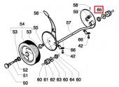 Pignon d\'entraînement de roue Tondeuse ROYAL 153S3, 153S3BBC - Ref 531 20 58-60 - Husqvarna