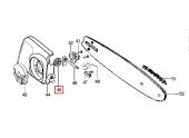 Engrenage pour vis de tension de chaîne Tronçonneuse MAC8-42, XTREME8-42, P842 et P840 - Ref 525 88 42-03 - Husqvarna