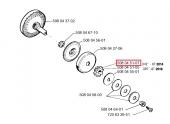 Pignon de chaîne pour Tronçonneuse 2014, CS2115, 320 ... - Ref 508 04 51-07 - Husqvarna