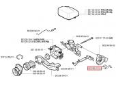 Commande de starter pour tronçonneuse CS2141, 215, 340 ... - Ref 503 86 96-01 - Husqvarna