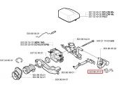 Bouton d'Arrêt Carburateur de Tronçonneuse CS2141, CS2156, 357 XP ... - Ref 503 86 95-02 - Husqvarna