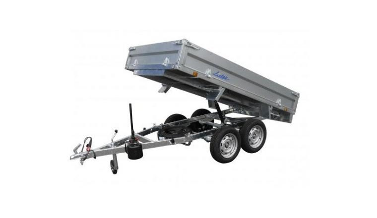 Remorque Benne basculante - PTAC 750 kg - Ref 35560 - Lider