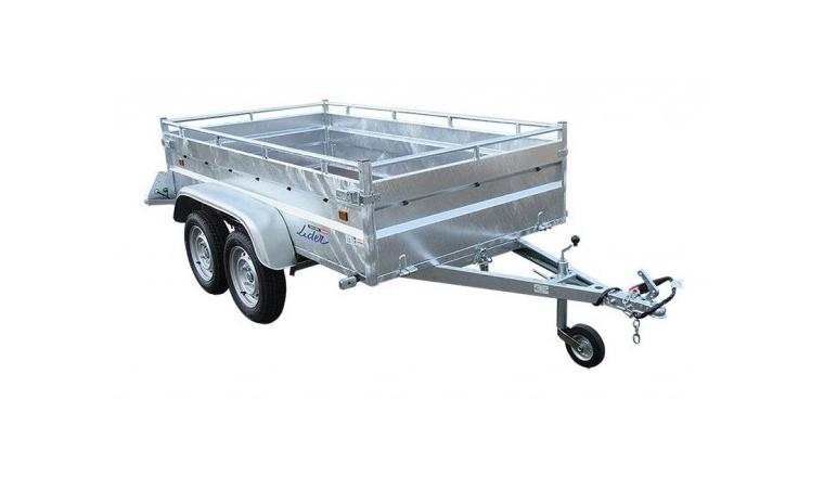 Remorque Robust 2 essieux - PTAC 500 kg - Lider