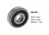 Roulement à billes étanche 6002.2RS - 15 x 32 x 9 mm