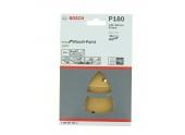 Lot de 10 patins abrasifs pour PSM 160 102 x 62 mm, 93 mm - 11 trous - Bosch