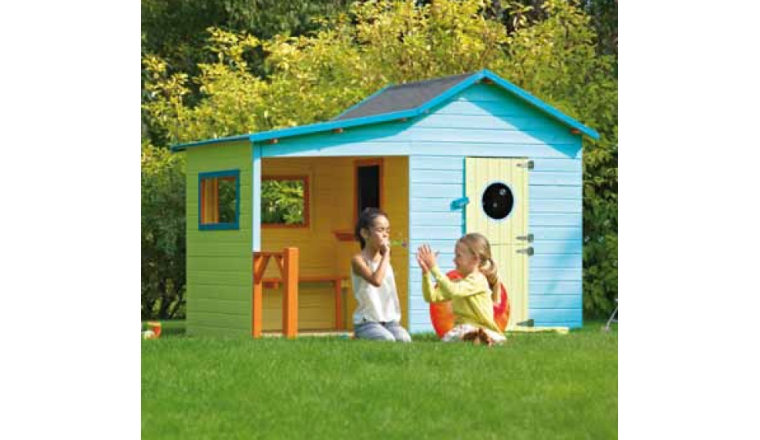 Abri Playhouse en Bois HACIENDA 3.05 m² - Ref 2354 - Madeira