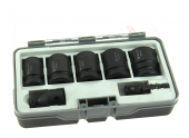 Coffret de 5 Douilles à Choc + 2 Adaptateurs - 2 608 551 029 - Bosch