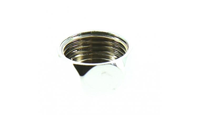 Bouchon chromé Femelle 15 x 21 à Visser - Ref 92667 - Comptoir de Picardie