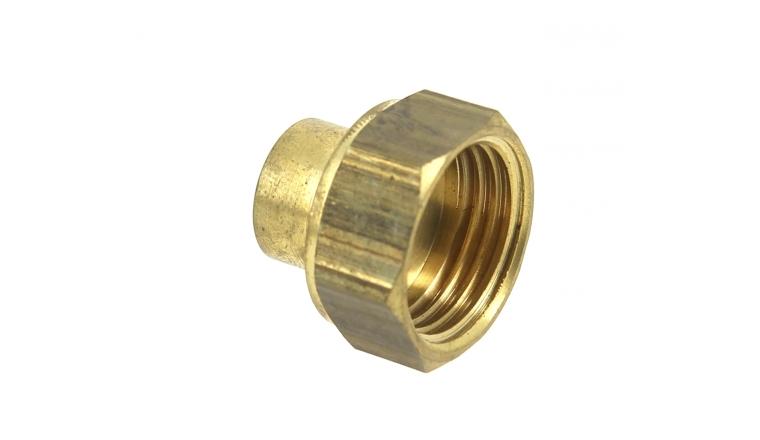 Manchon F à souder Ø12 mm et F à visser 15x21 - Ref 92446 - Comptoir de Picardie