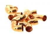 Lot de 10 Raccords Coudés à 90° FF Ø 16 mm à Souder pour Tube Cuivre - Ref 90072 - Comptoir de Picardie
