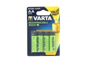 Pile LR6 (AA) Rechargeable 1.5 V - Lot de 4 - Varta
