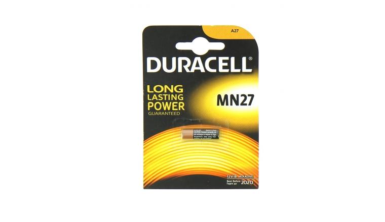 Pile MN27 Alcaline 12 V - Duracell