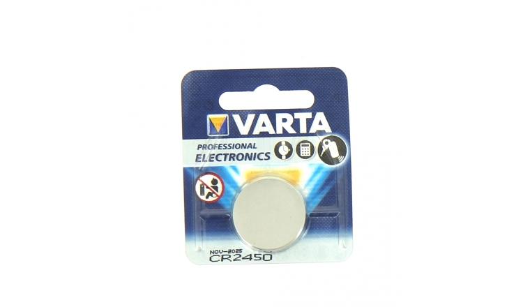 Pile Bouton CR2450 Lithium 3 V - Varta