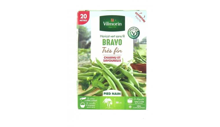 Haricot Nain - Bravo Vert - Vilmorin