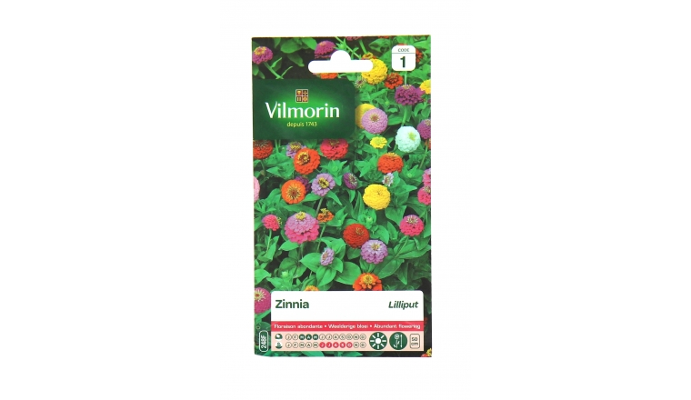 Zinnia - Lilliput - Vilmorin