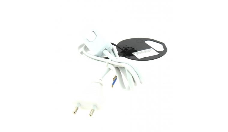 Cordon d\'alimentation lame avec Interrupteur Blanc - 1.5 mètres