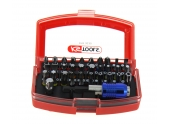 Coffret d'Embouts de Vissage 32 Pièces Torsion Power - Ref 918.3030 - KS Tools