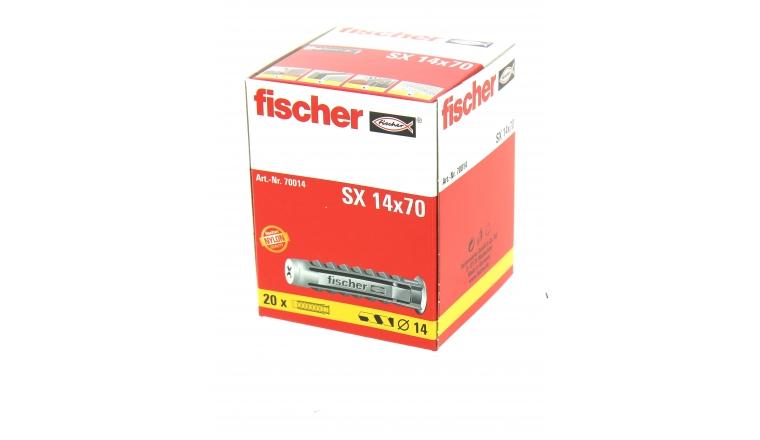 Cheville Nylon SX Ø 14 x70 mm -Boîte de 20 - Fischer