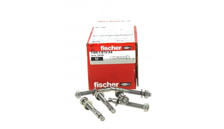 Goujons d\'Ancrage FBN II Ø 8 x 71 mm  Inox - Boîte de 50 -  Fischer