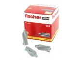 Cheville Nylon GB 8 pour Béton Cellulaire  Ø 8 x 50 mm - Boîte de 25 - Fischer