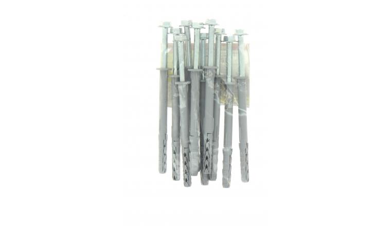 Cheville Nylon Avec Boulon SXR FUS Ø 10 x 120 mm - Sachet de 10 - Fischer