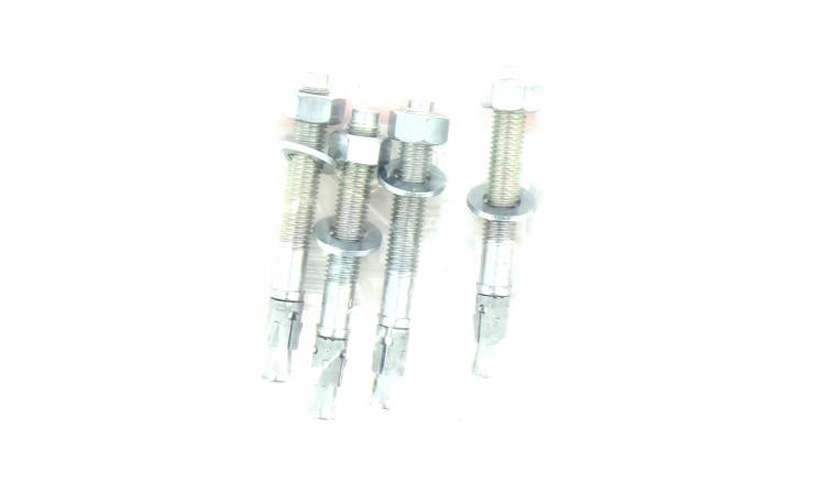 Goujon d\'Ancrage FBN II Ø 12 x 106 mm Acier Electrozingué - Sachet de 4 - Fischer