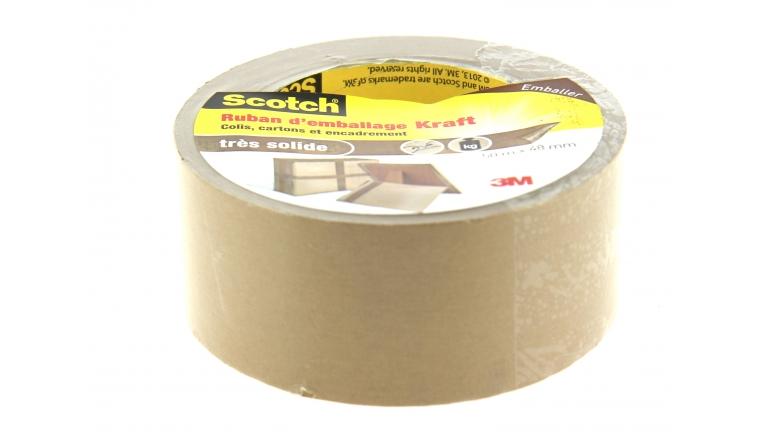 Adhésif d\'Emballage en Kraft 50 m x 48 mm - 3M