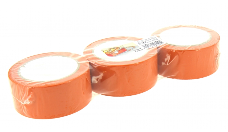 Lot de 3 adhésifs orange Multi Usage 33 m x 48 mm - 3M