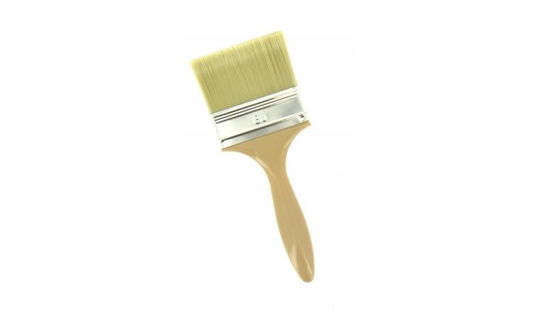 Pinceau Plat 80 mm Tous support, Peinture Acrylique